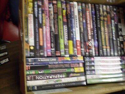 (40) Anime DVD Lot: Dante's Inferno  Dragon Ball Z  Appleseed Steelbook  Naruto