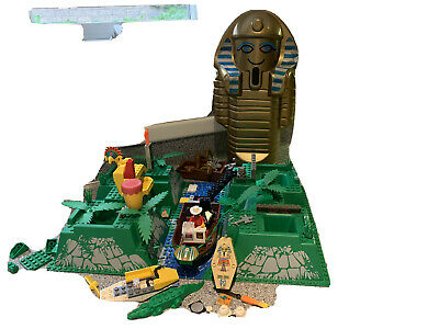 Lego Mega Lot Adventurers Egyptian Potter Plane Characters/Instructions/pieces