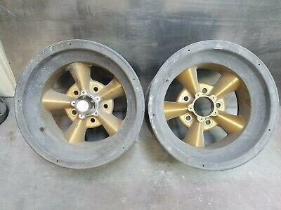 AMERICAN RACING 15x8 Magnesium Torgue Thrust Straight Spoke Wheels