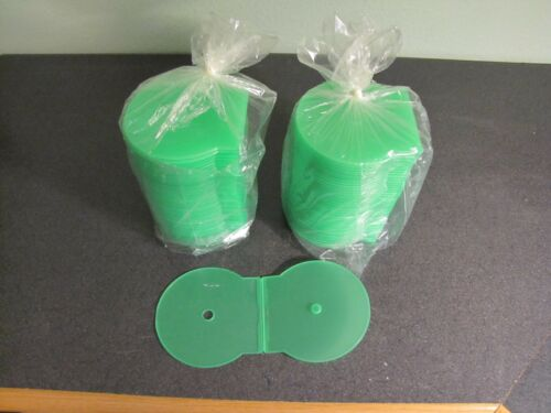 80 pcs. CD DVD Clamshell Poly Case Green