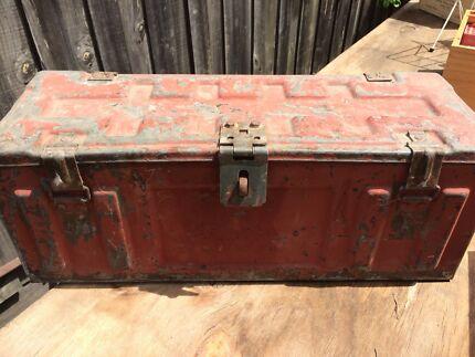 Metal Ammunition Crate