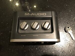 M Audio Fast Track Interface