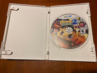 Pac-Man and the Ghostly Adventures 2 (Nintendo Wii U, 2014)- Pre-owned-no Cover