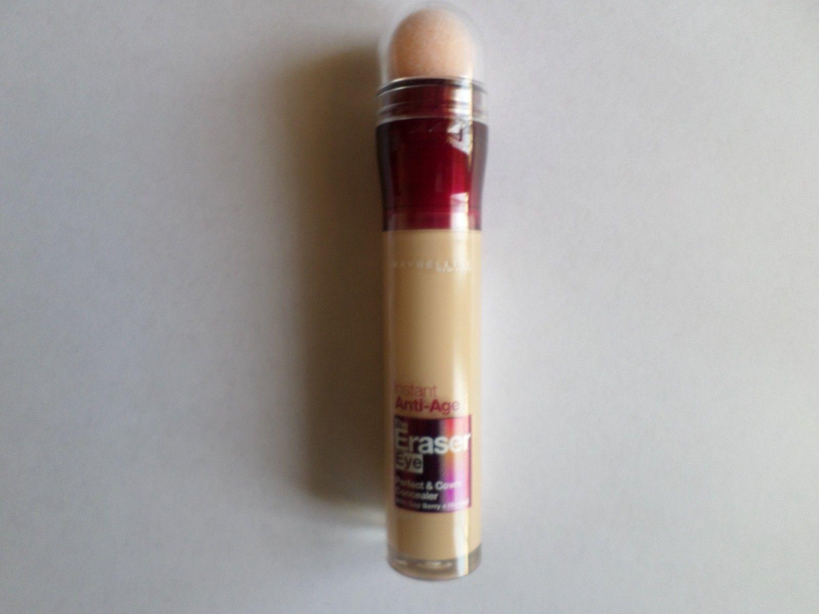Maybelline Instant Anti Age The Eraser Eye Concealer Light 68ml Eyesential Eyebrush Set Stock Photo