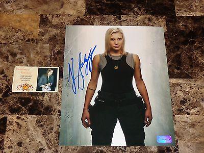 Katee Sackhoff Signed Photo Battlestar Galactica Star Wars Halloween Actress Coa
