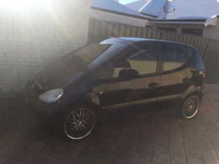 Mercedes hatch