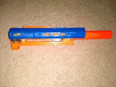 Nerf N-Strike CS-6 Longstrike Barrel Replacement Attachment Blue/Orange Part