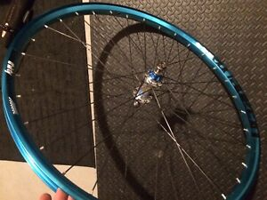 """NS Bikes Co. front wheel and chromoly fork 26"""""""