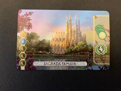 7 Wonders Duel Promo Card Sagrada Familia