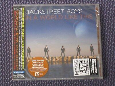 "BACKSTREET BOYS ""IN A WORLD LIKE THIS"" JAPAN CD +1 SICP-3843 *SEALED* comprar usado  Enviando para Brazil"