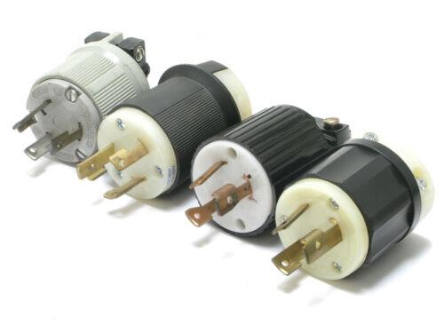 Assorted Brands NEMA L5-30P 125V 30 Amp 3W 2P Twist Lock Male Plug