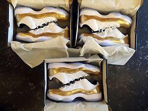 """Jordan11 """"White/Metallic Gold"""" Carlton Melbourne City Preview"""