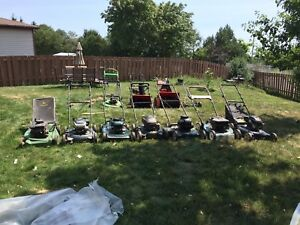 Lawnmowers and snowblowers forsale for repair