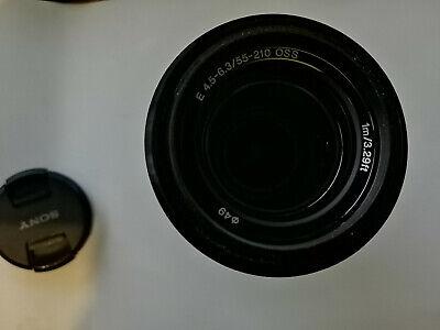 Sony SEL 55 mm - 210 mm F/4.5-6.3 E OSS for Sony - Black