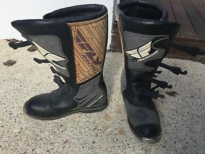 Fly Racing Motorbike boots Tapping Wanneroo Area Preview