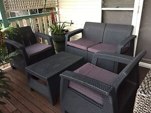 5 piece outdoor setting Red Hill Brisbane North West Preview