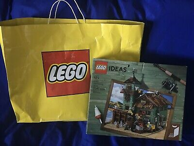 ✅NEW LEGO #21310 Old Fishing Store❗️(Lego Carry Bag Included)