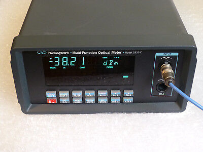 Newport 2835-c Dual Channel Optical Power Meter