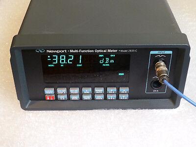Newport 2835-c Dual Channel Optical Power Meter