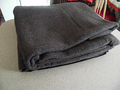 Vintage US Military FCDA Stamped 4lb Wool  Blanket Never Used/Camping/Outdoors