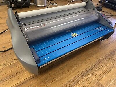 Gbc Pinnacle 27 Wide Thermal Roll Laminator - Great Working Condition