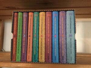 BOXED SET - LEMONY SNICKET - A SERIES OF UNFORTUNATE EVENTS