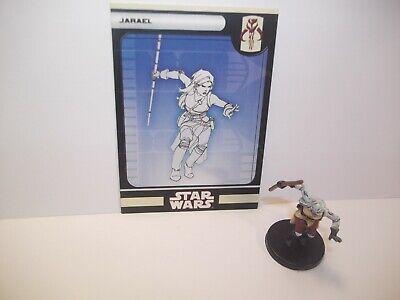Star Wars Miniatures - Jarael 41/60 - Rare - KOTOR