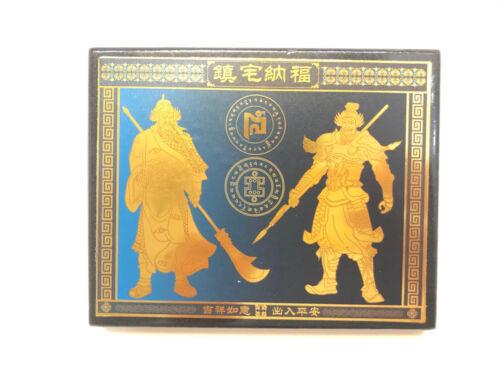 2021 Feng Shui Anti Burglary Plaque with Door Guardians USA SELLER