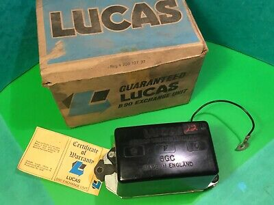 Lucas control box B90 exchange unit 6GC 12V 37472 8 71,fits e-type jaguar early, used for sale  Sutton-in-Ashfield