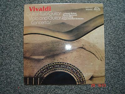 VIVALDI - Viola & Quitar Concertos vintage vinyl record segunda mano  Embacar hacia Argentina