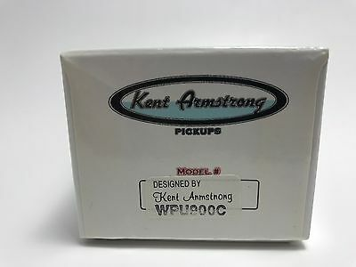 KENT ARMSTRONG CONVERTIBLE WPU900CR P90 HUMBUCKER RW//RP RETRO CHROME METAL COVER