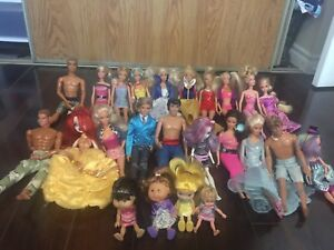 Barbies and accessories