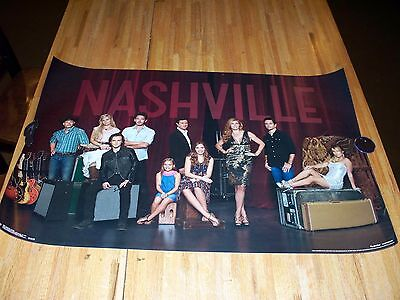Nashville TV Show Poster 34 X 22 Out of Print RARE