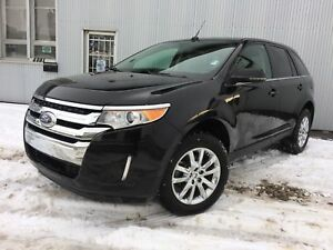 2014 Ford Edge Limited, AWD, BACKUP CAM, LEATHER, SUNROOF.