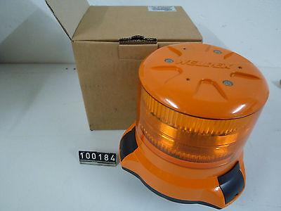 Weldex LED Rundumleuchte Blitzleuchte Orange 35W 12V / 24V