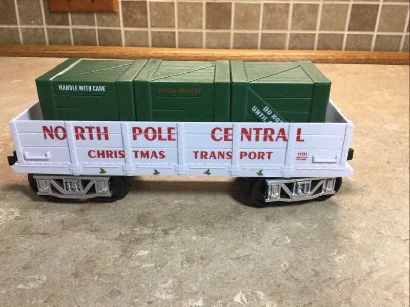 Lionel NORTH POLE CENTRAL Freight Car Train Replacement Add On 7-11729