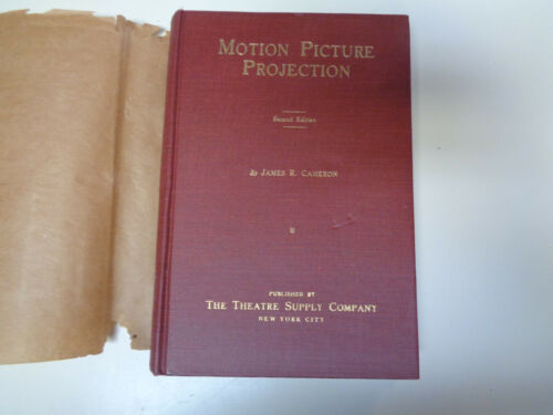 Motion Picture Projection 1921 Antique Movie Projectors Lamphouse Manual