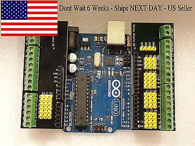 Arduino Screw Shield V2 - Sensorservoscrew Terminal Shield-fast Ship-us Seller