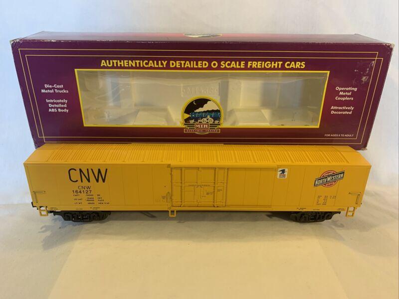 MTH Premier 20-93098 Chicago Northwestern 60' Mail Boxcar #164127 O Gauge Used