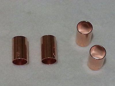 Copper Coupling Less Stop - 1/2