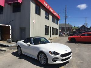 2017 FIAT 124 Spider Classica LEATHER/ BLUETOOTH/ NAV