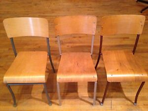 Stackable banquet style chairs
