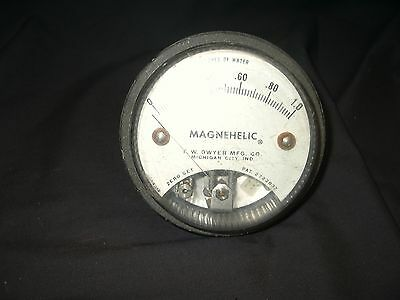 Magnehelic Gauge 0 To 1.0 Inch Water - Good Condition