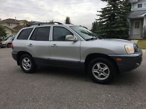 2001 Hyundai Santa Fe ( leather , loaded , all wheel drive)