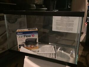 BRAND NEW AQUARIUM WITH FILTER,CANOPY AND LIGHT