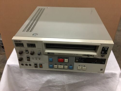 """Sony VO-7630 3/4"""" U-Matic low band (PAL/NTSC/SECAM) great for archiving"""