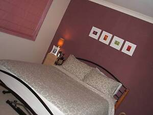 Queen iron bed plus mattress Padstow Bankstown Area Preview
