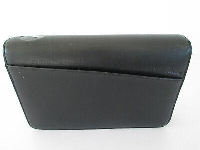 Filofax Organiser Personal Size Lyndhurst Deluxe Leather Zip Around Black