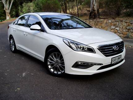 MY17 Hyundai Sonata - JUST 9,000 Km !! - 1 Owner - Local Adel Car Rostrevor Campbelltown Area Preview