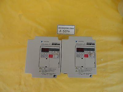 Yaskawa Electric Cimr-j7aa21p5 Drive Controller Vs Mini J7 Lot Of 2 Working